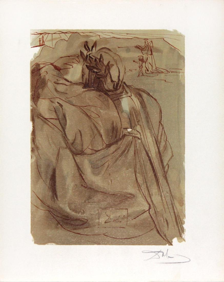 Dante's Repentance by Salvador Dali