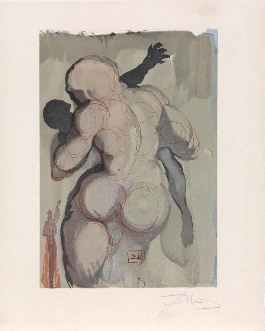 The Neglectful Meet Violent Death by Salvador Dali
