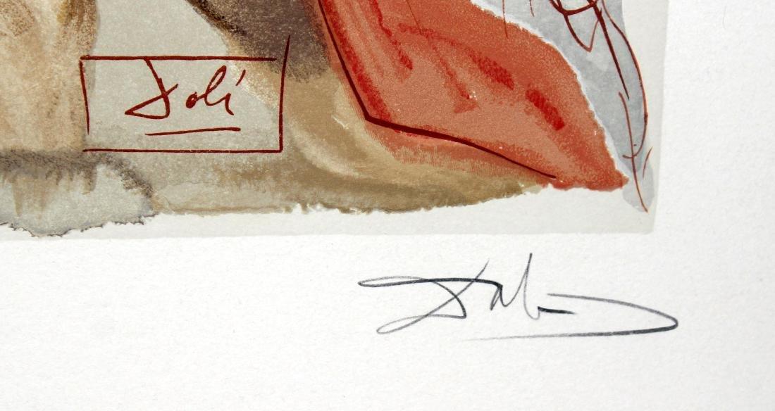 Virgil's Admonishment by Salvador Dali - 2