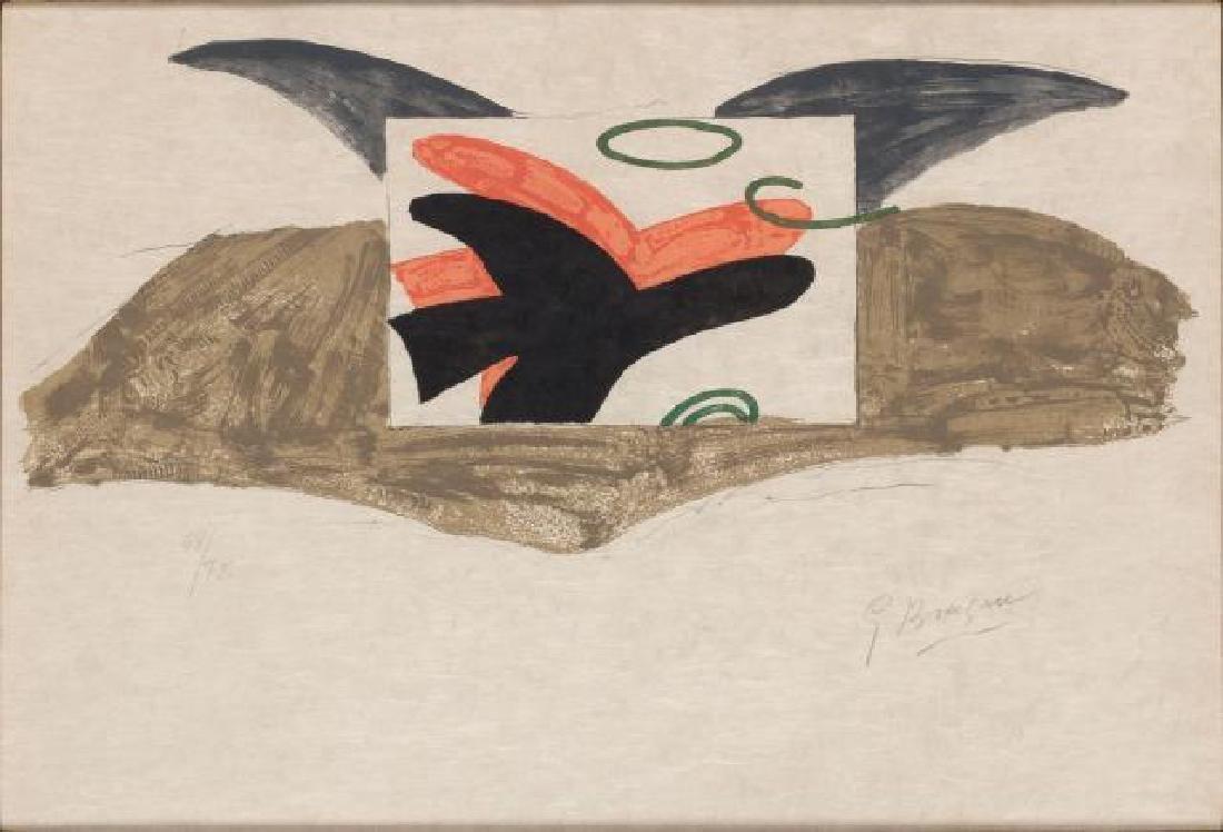 Georges Braque - Affiche pour l'Exposition Goerges