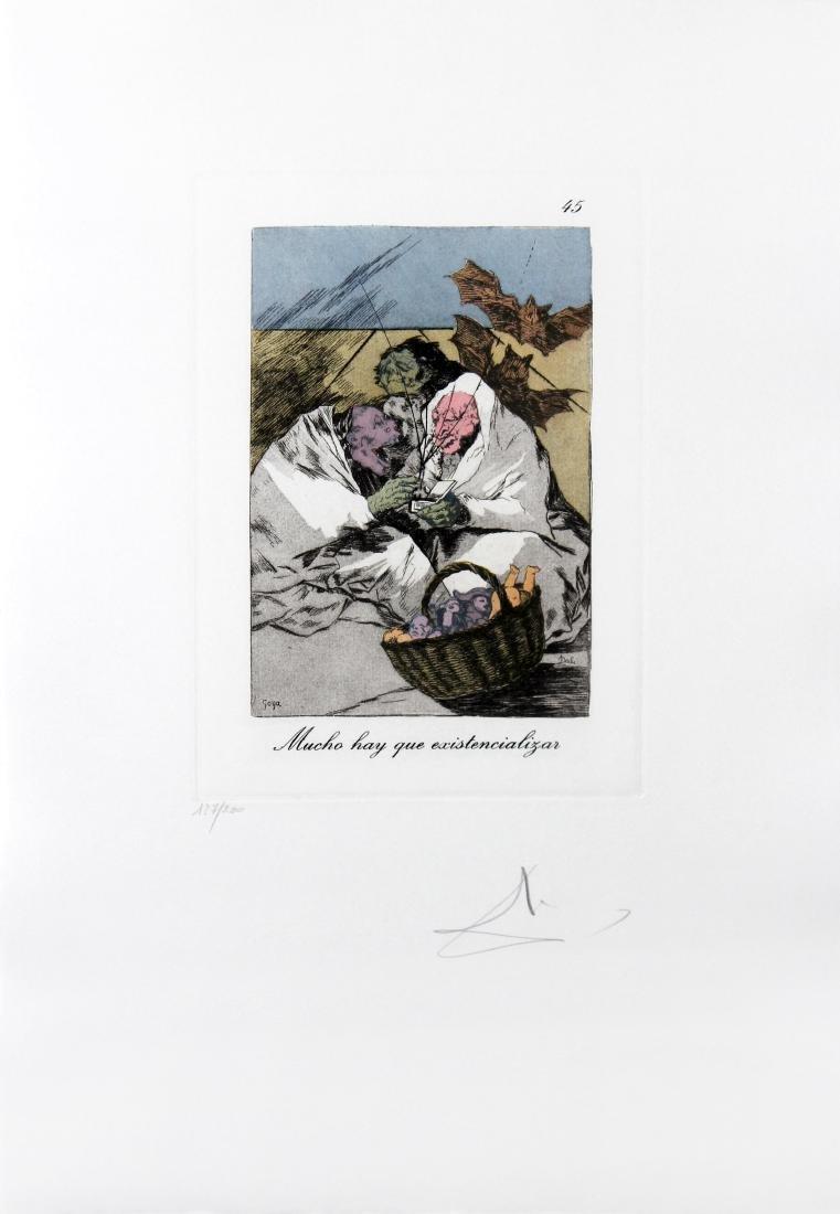 Mucho hay que existencializar by Salvador Dali