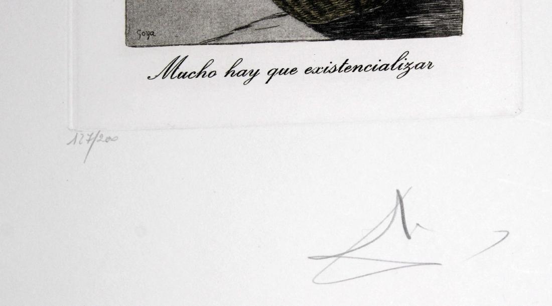 Mucho hay que existencializar by Salvador Dali - 2