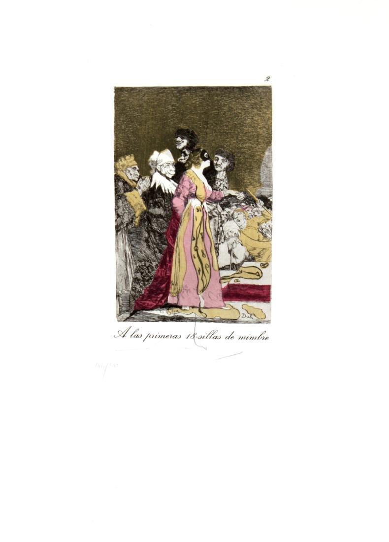 Salvador Dali - A las Primeras 18 Sillas de Mimbre