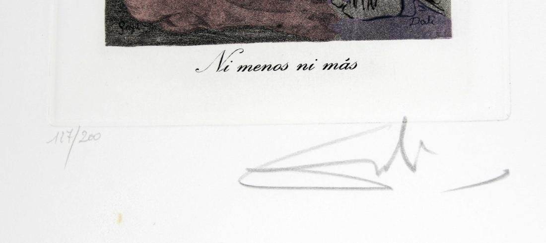 Ni menos ni mas by Salvador Dali - 2