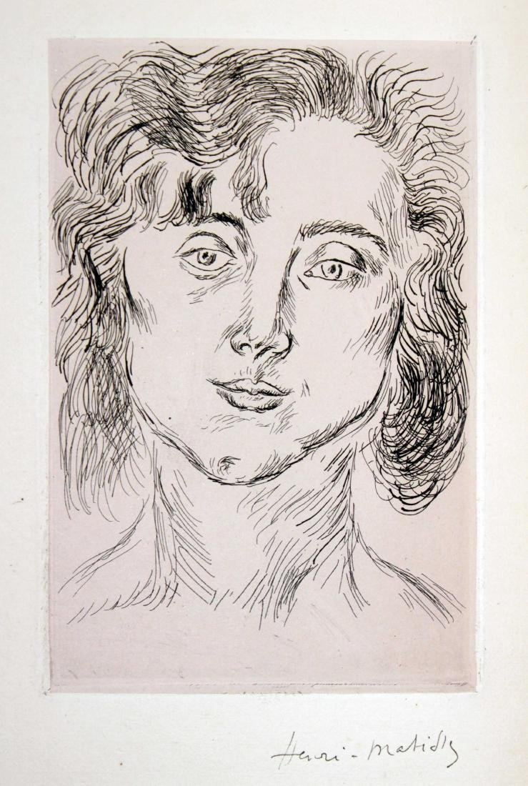 Henri Matisse - Hand Signed Frontispiece