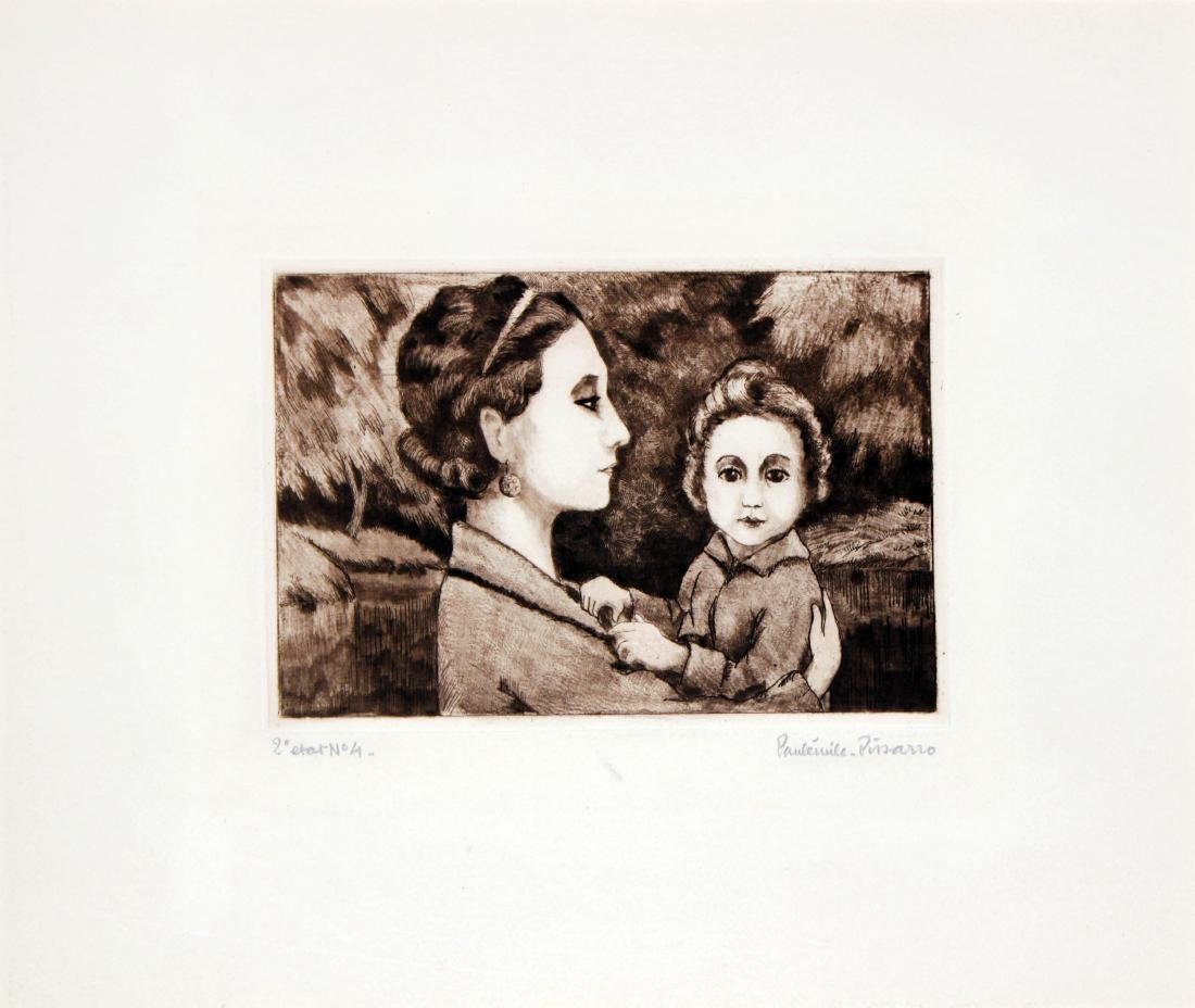 Paul-Emile Pissarro - Madame Paulemile Pissarro with
