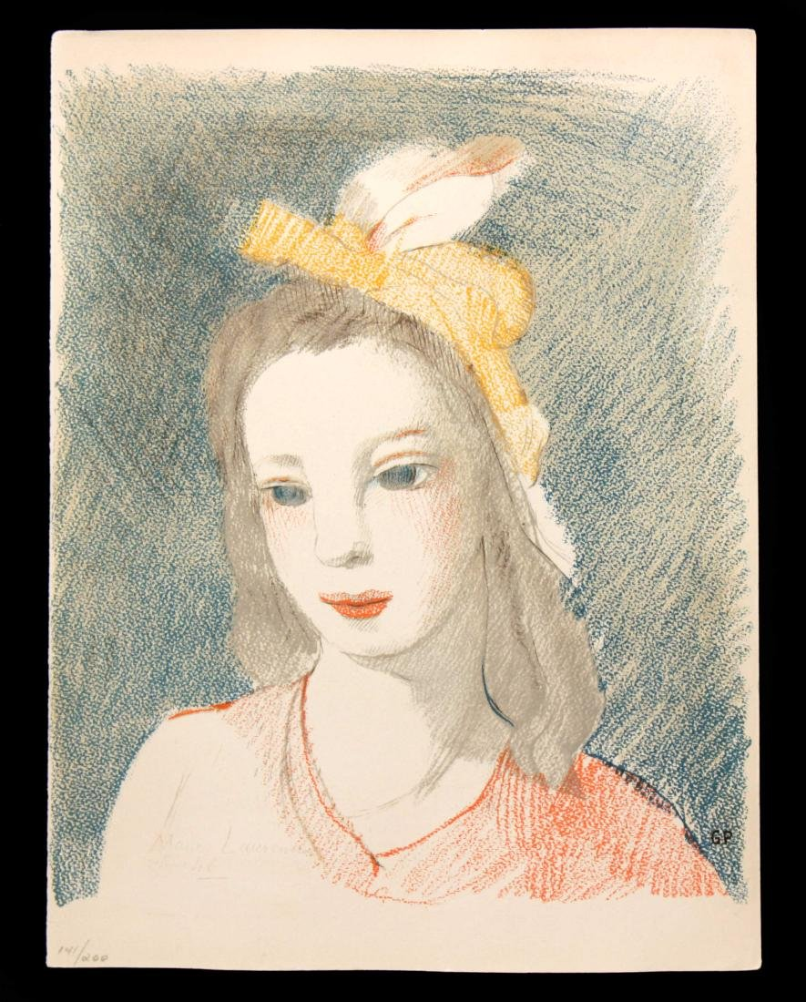 Maurice Laurencin - Young Woman in a Hat