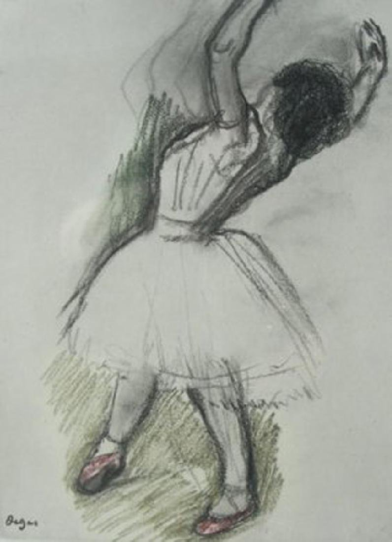Edgar Degas (After), from Danse Dessin