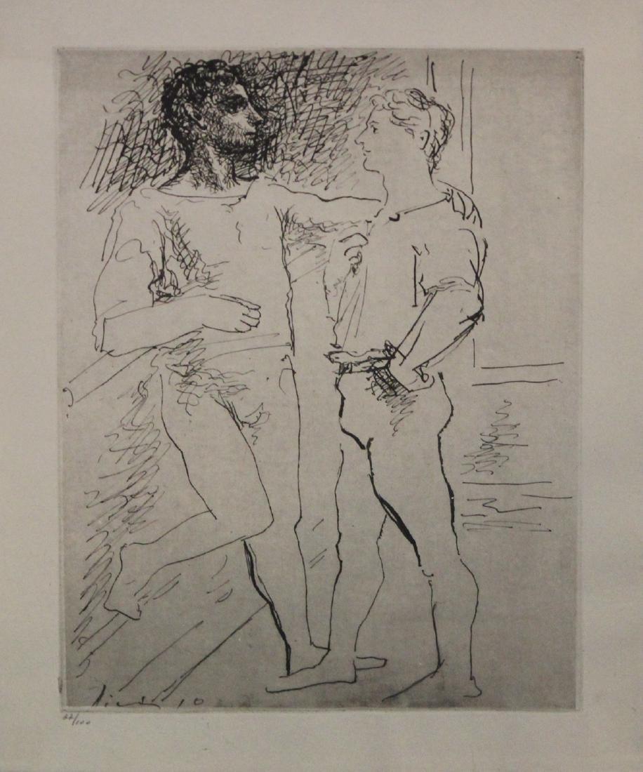Pablo Picasso (After), from Grace et Mouvement - 2