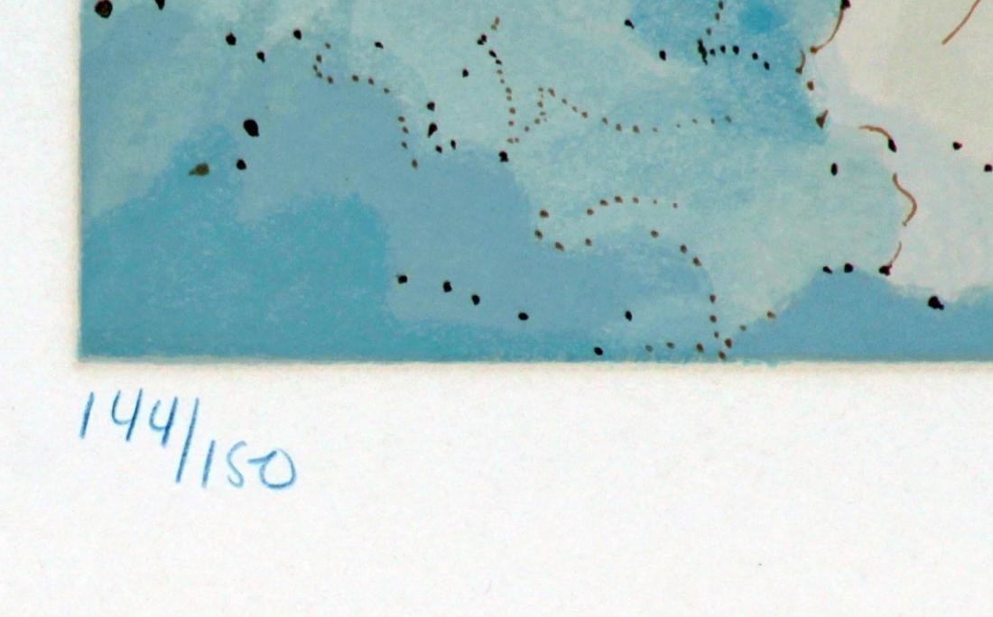 Salvador Dali - The Sixth Sphere/Heaven Of Jupiter - 3