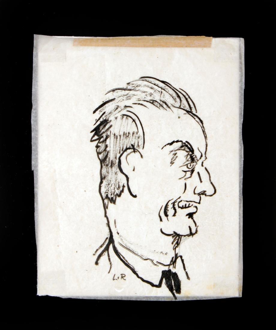 Ludovic-Rodo Pissarro - Portrait of a Man