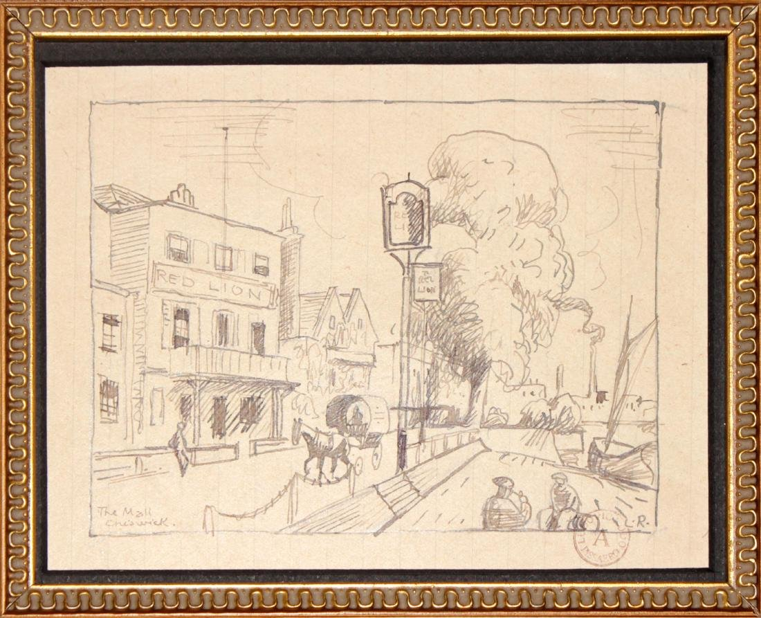 Ludovic-Rodo Pissarro - The Mall Chiswick