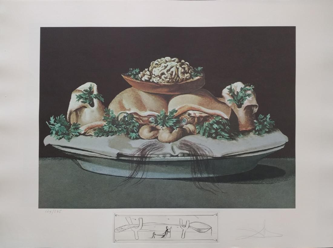 Salvador Dali, from Les Diners De Gala