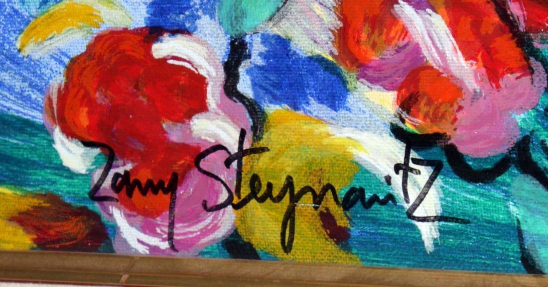 Zamy Steynovitz - Woman in Floral Dress - 2