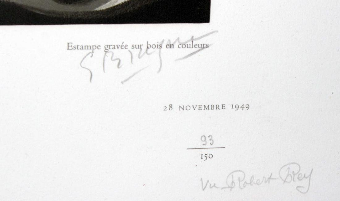Georges Braque (After) - Nature Morte aux Huitres - 2