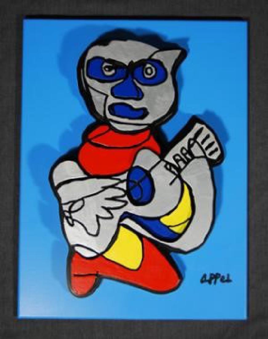 Karel Appel - Indigo Blue