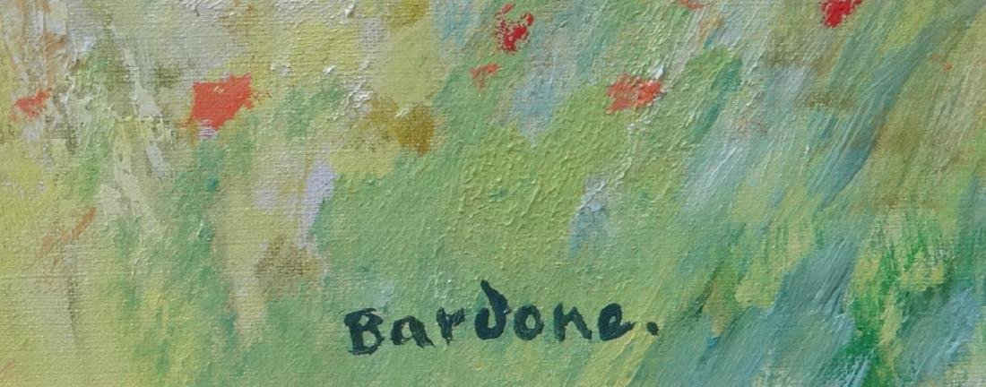 "Guy Bardone ""Krista aux Coquelicots"" Monumental Oil - 3"