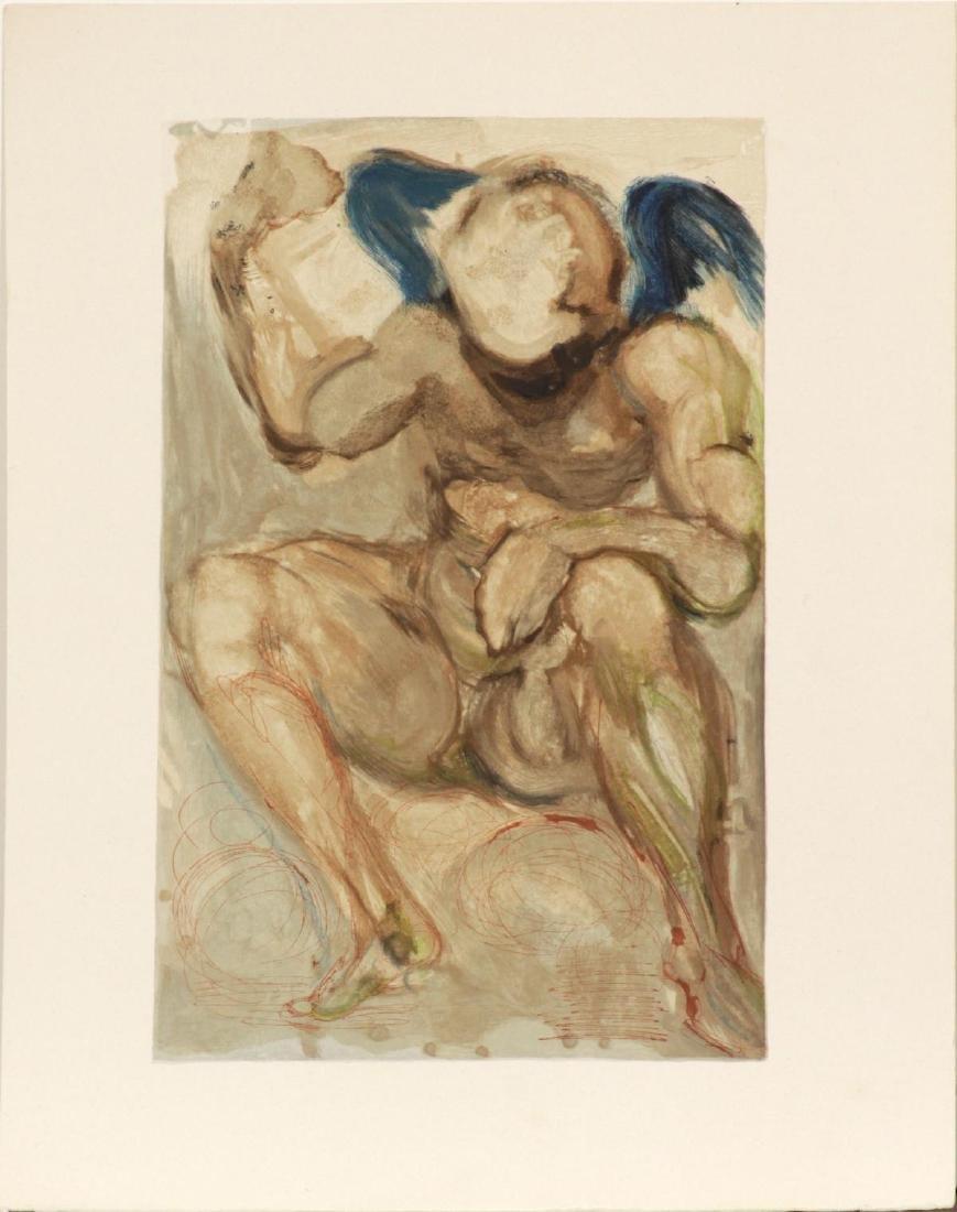 Salvador Dali - Angel of Mercy