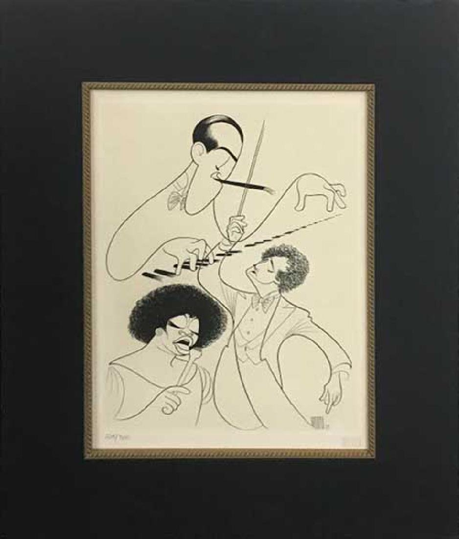 Al Hirschfeld - Rhapsody in Blue