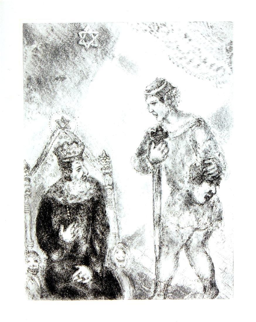 Marc Chagall - David Before Saul