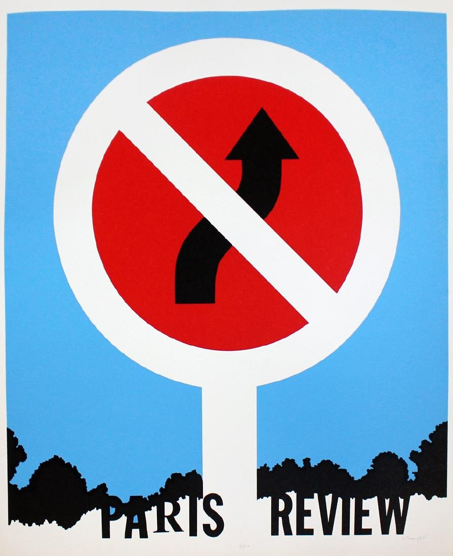 "Allan D'Arcangelo ""Paris Review"""