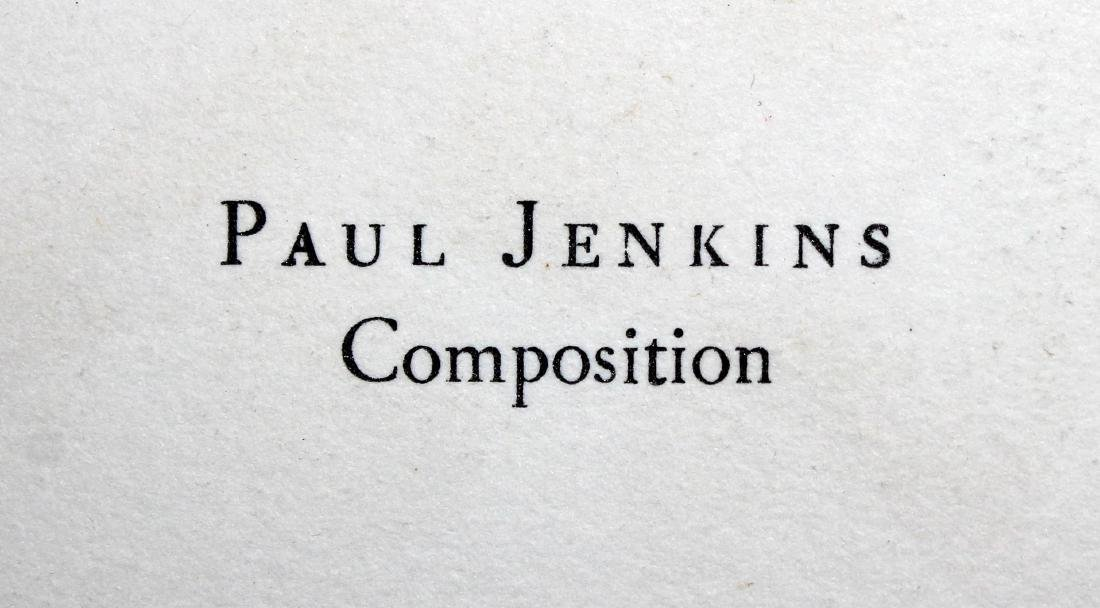 Composition I by Paul Jenkins - 2