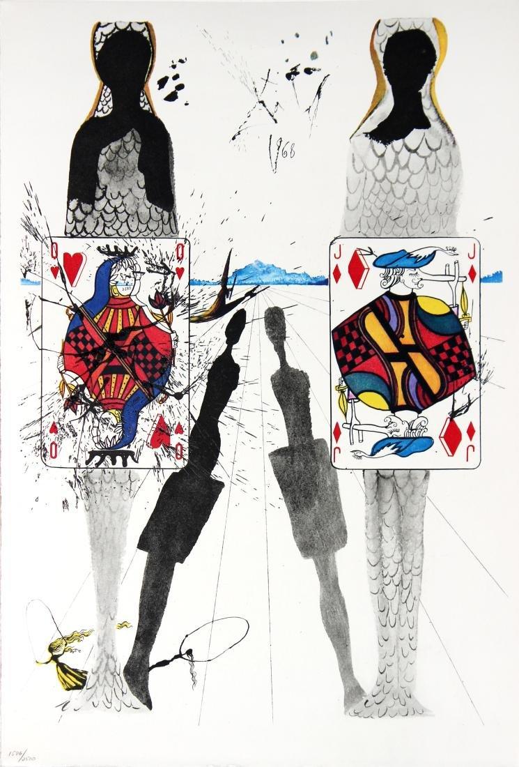 Salvador Dali - The Queen's Croquet Ground