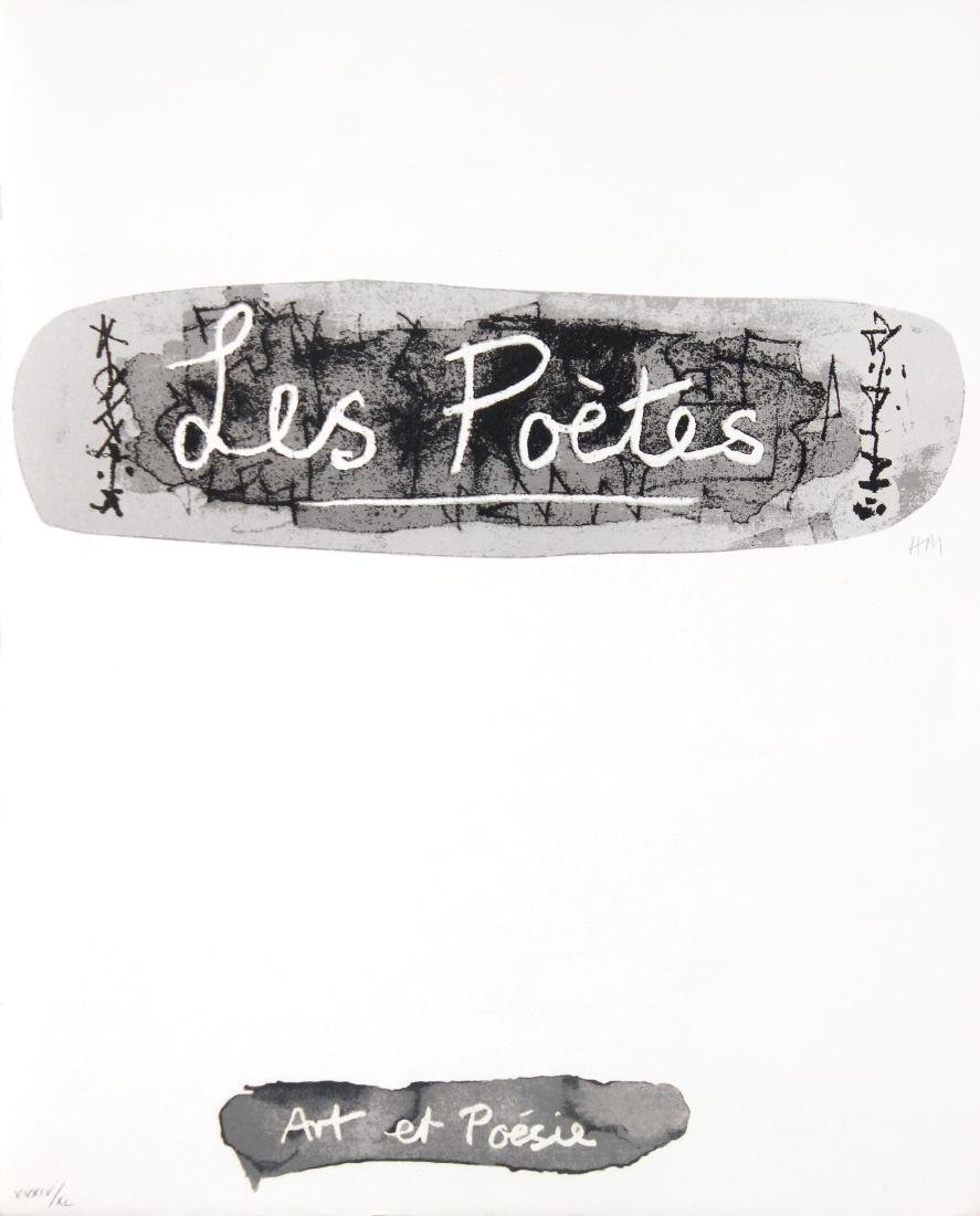 Les Poetes by Henry Moore