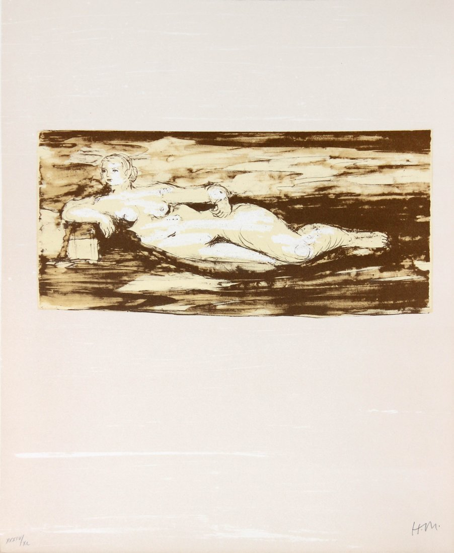 Femme Allongee by Henry Moore