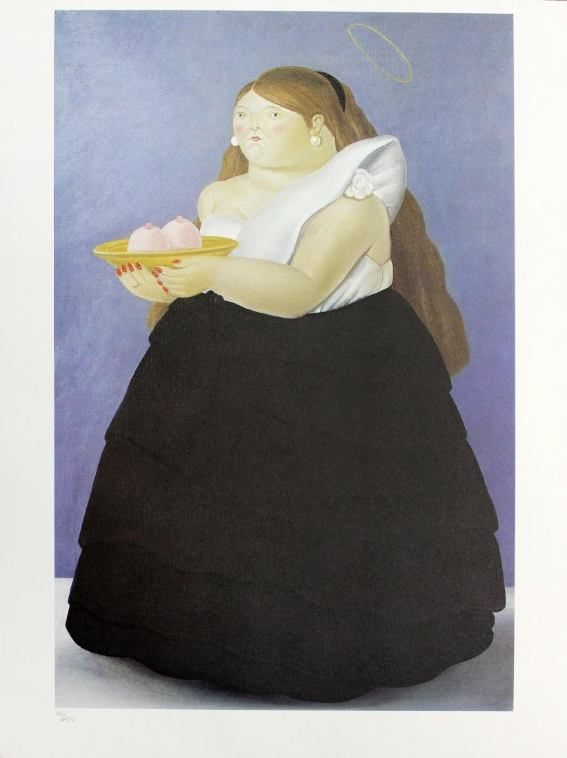 Fernando Botero (after) - Santa Olalla