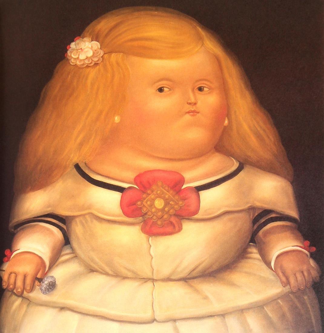 Fernando Botero (after) - Menina after Velazquez