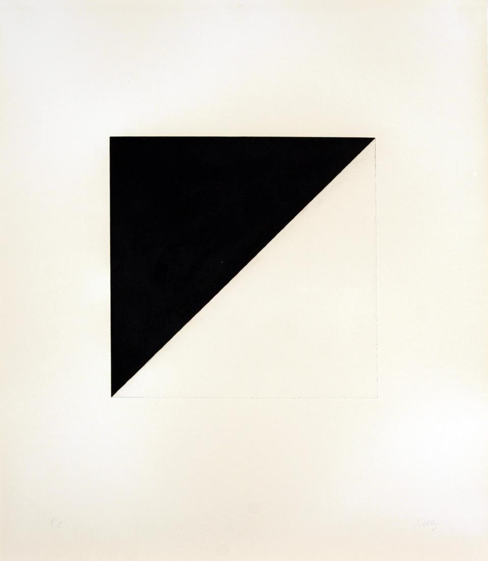 Ellsworth Kelly - Diagonal with Black