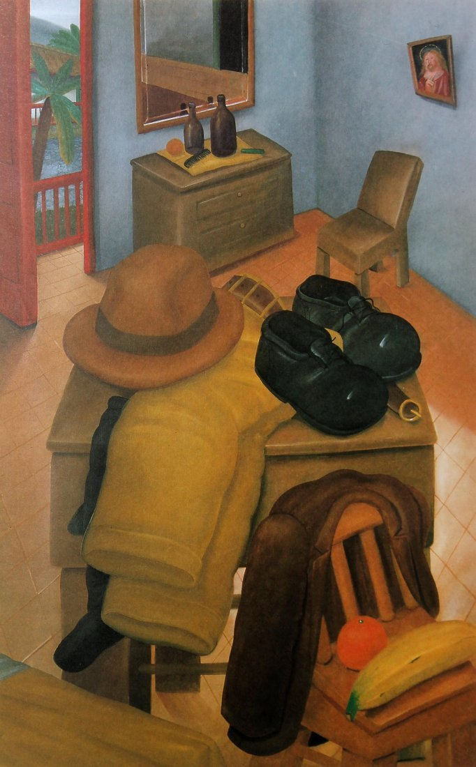 Fernando Botero (after) - The Bedroom