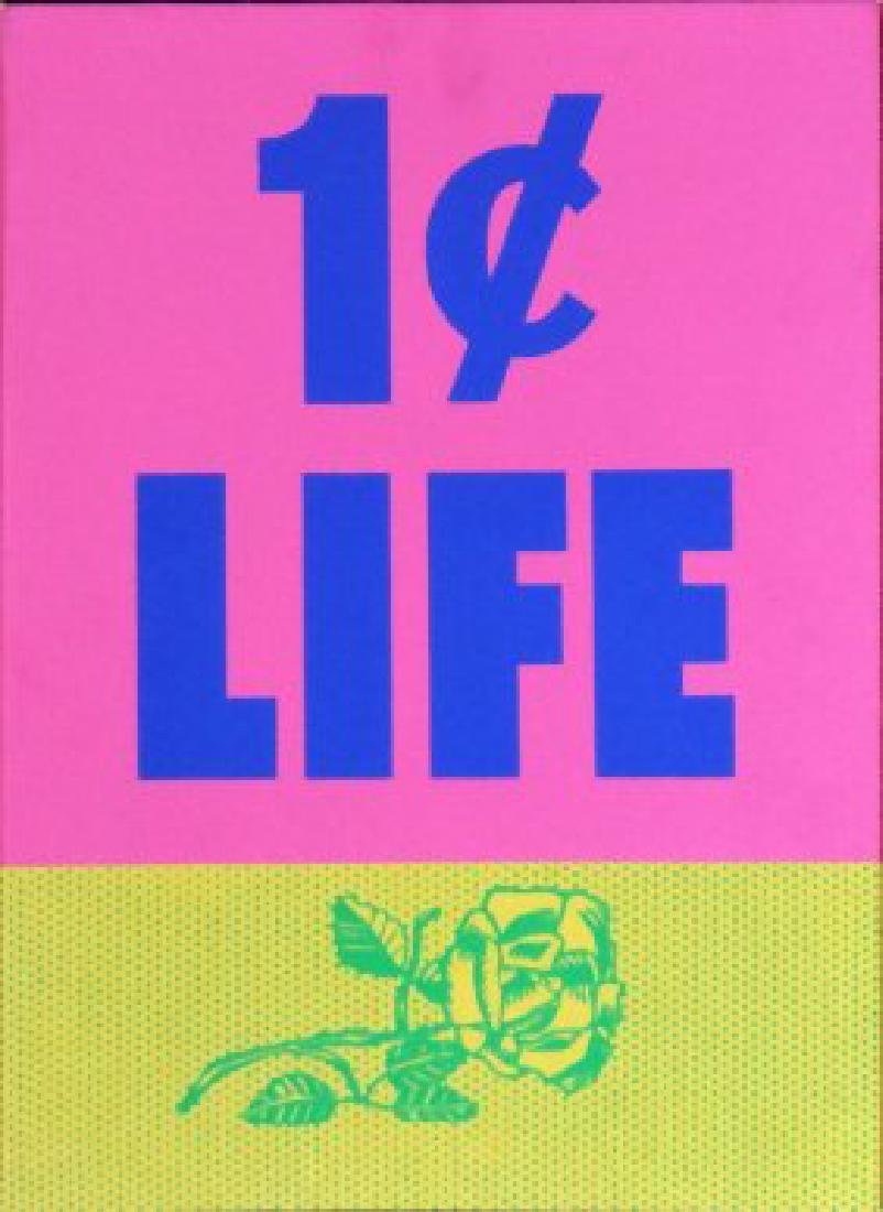 Roy Lichtenstein - Cover from One Cent Life