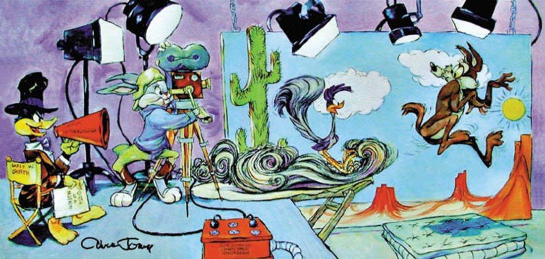 Chuck Jones - Lights, Camera, Action