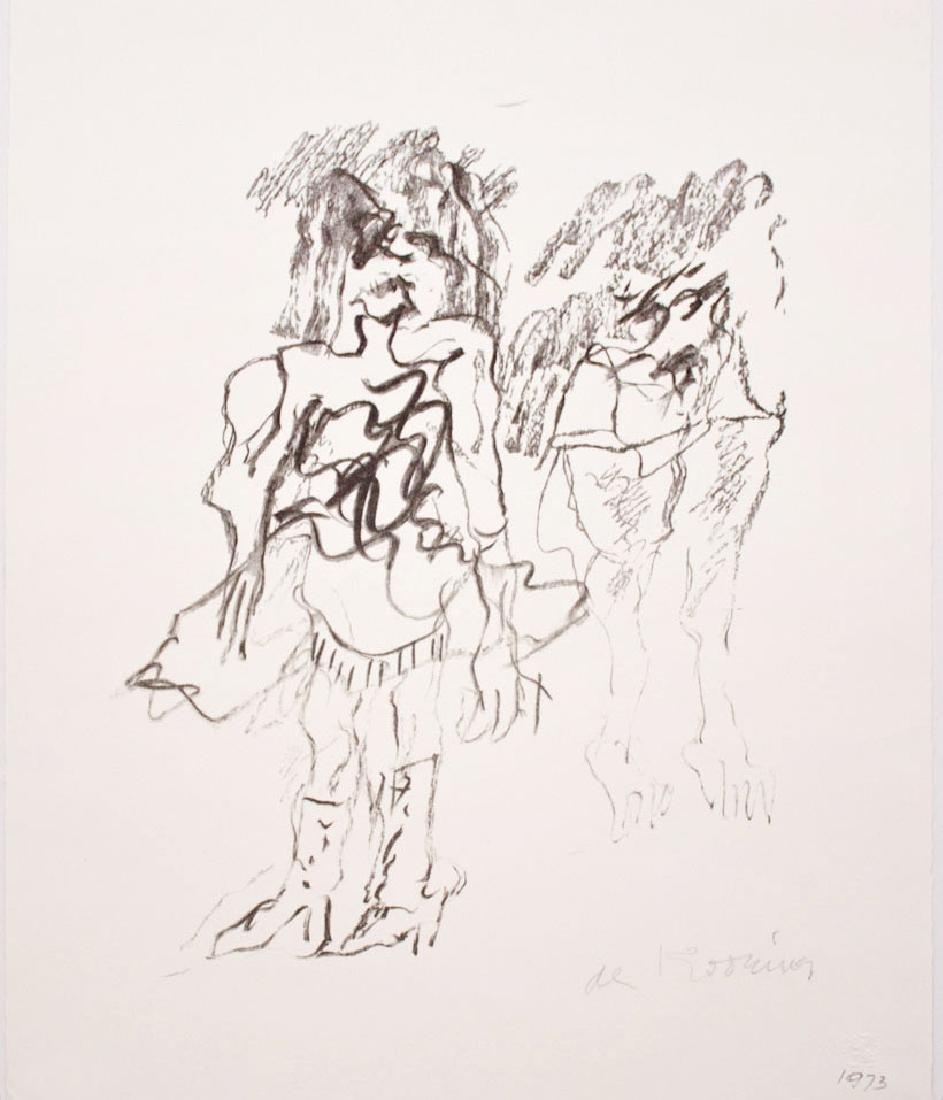 Willem De Kooning - Two Women