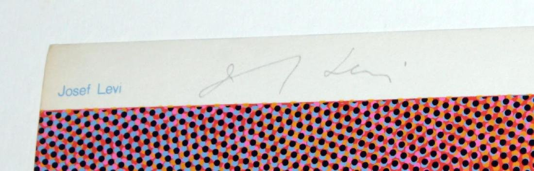 """Josef Levi - April from """"Domberger Siebdruck Kalender"""" - 2"""