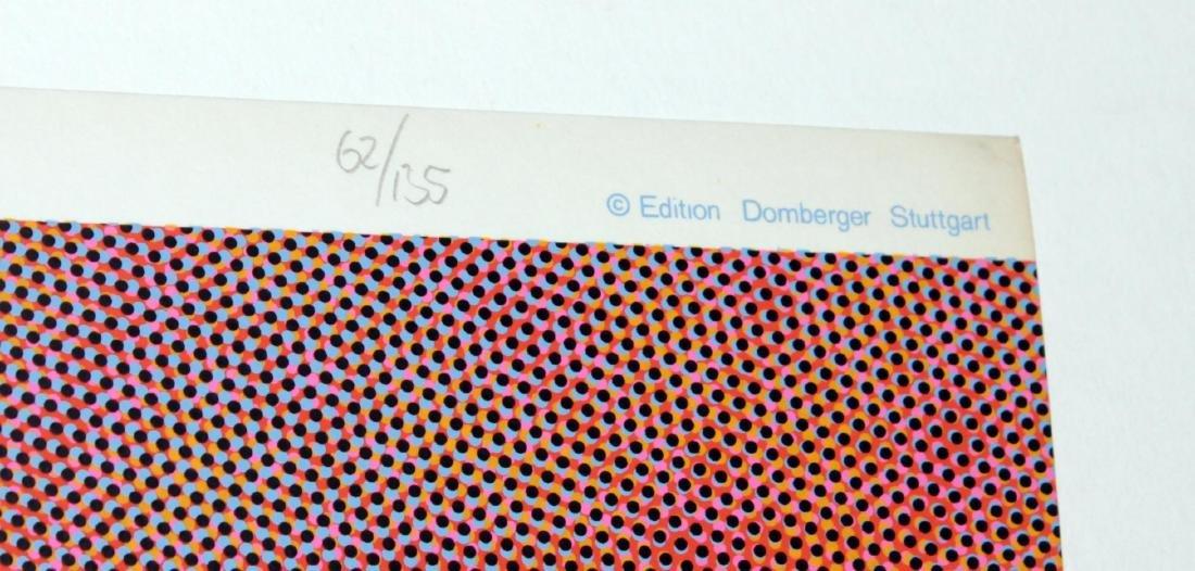 """Josef Levi - April from """"Domberger Siebdruck Kalender"""" - 3"""