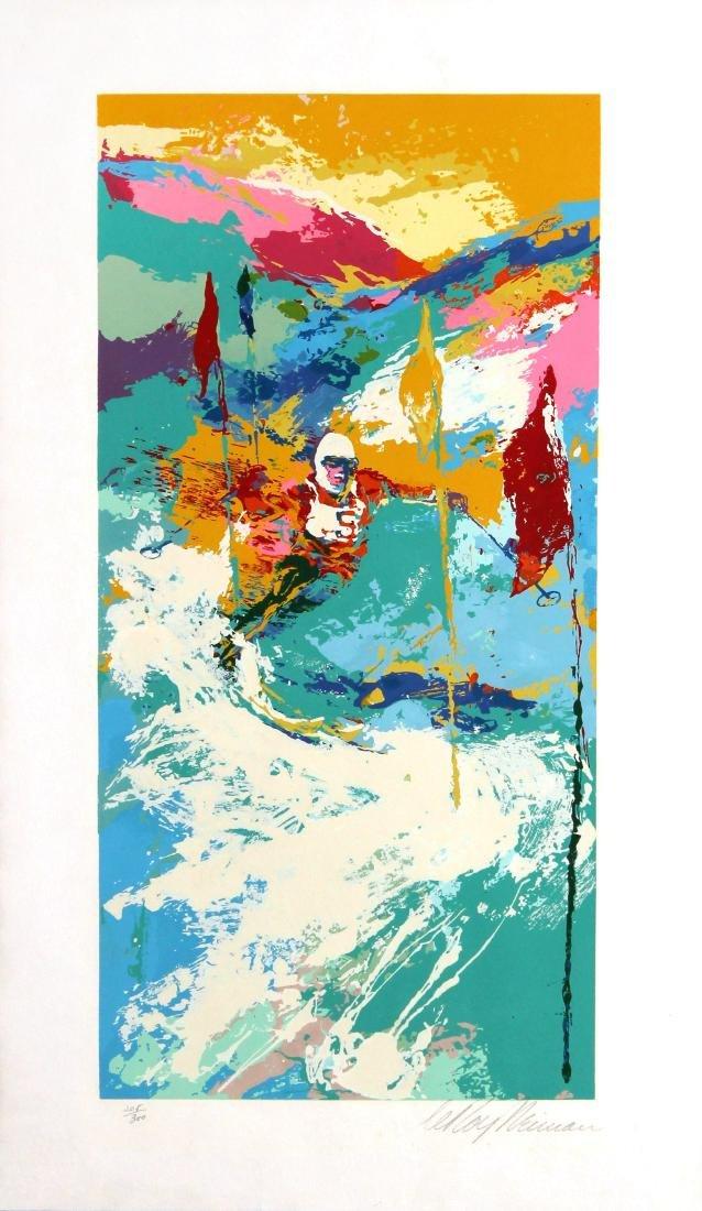 LeRoy Neiman - Downhill