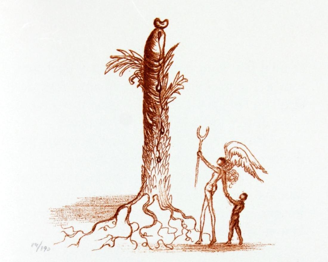 Salvador Dali - Casanova Illustration V
