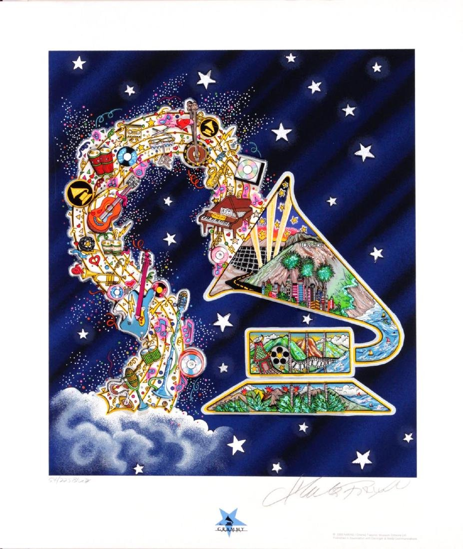 Charles Fazzino - Saluting the Grammys