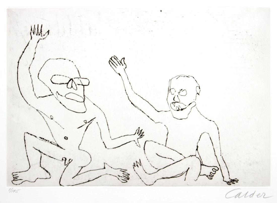 Alexander Calder - Santa Claus IX