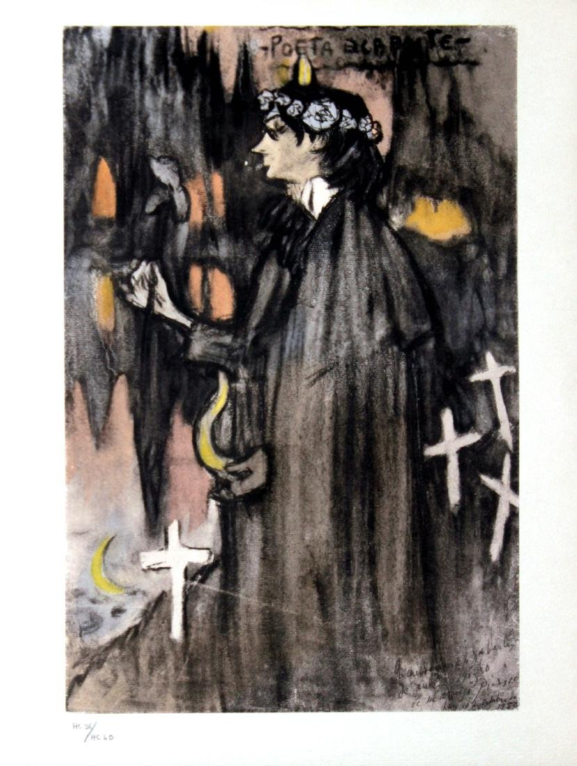 Pablo Picasso (After) - La Poete Decadent