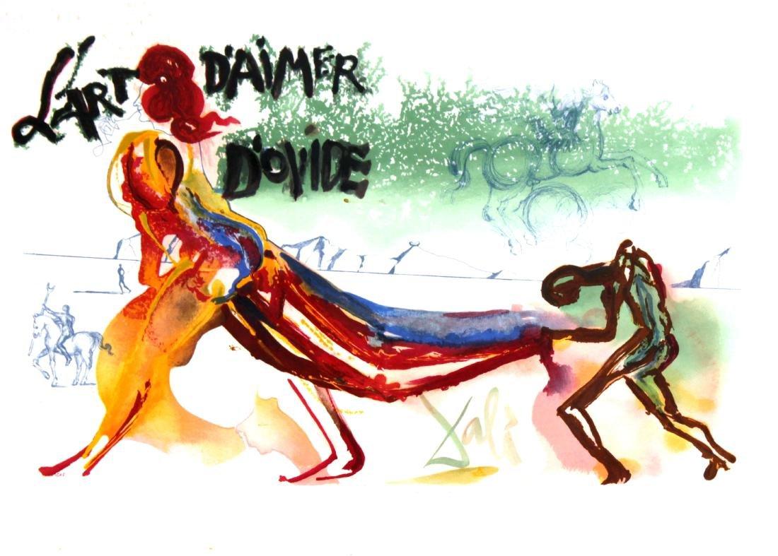 Salvador Dali - L'Art D'Aimer D'Ovide Frontispiece