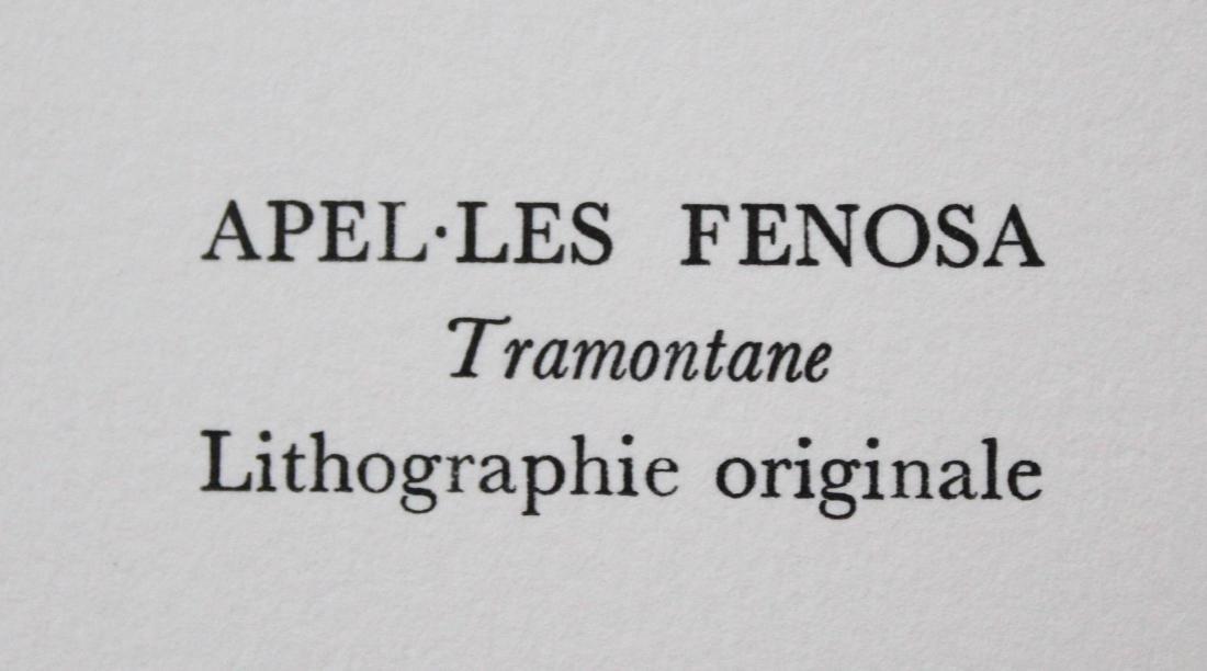 "Apel-Les Fenosa - ""Tramontane"" from Souvenirs de - 2"