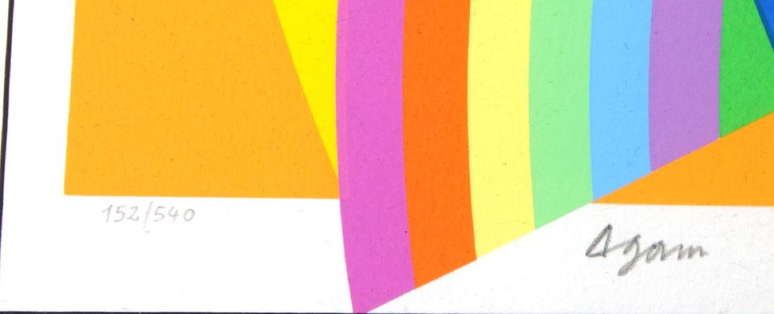 """Yaacov Agam - Untitled from """"Ben Gurion"""" - 2"""