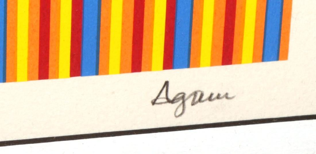 "Yaacov Agam - Untitled from ""Ben Gurion"" - 2"