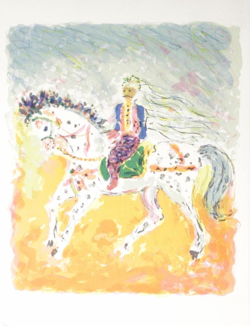 Kostia Terechkovitch - Cavalier tunisien