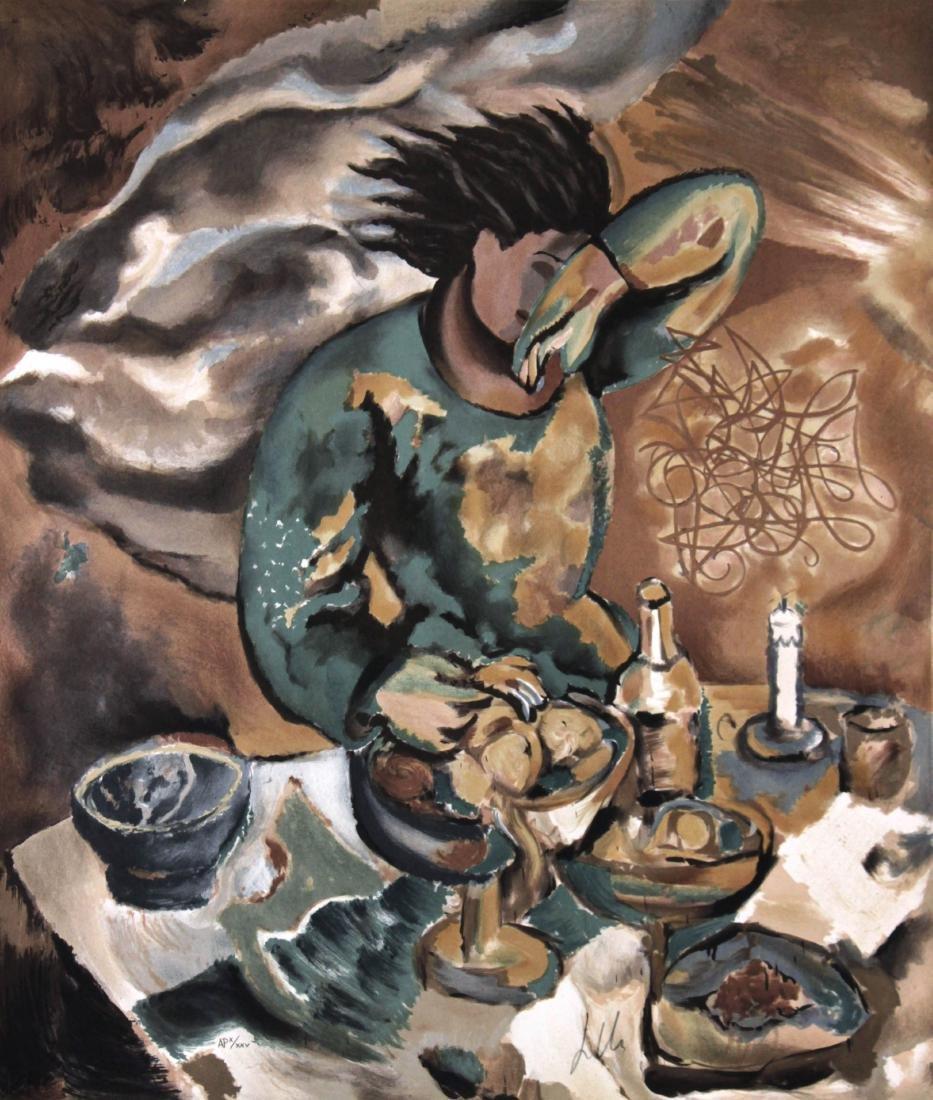 Sandro Chia - Dinner Table