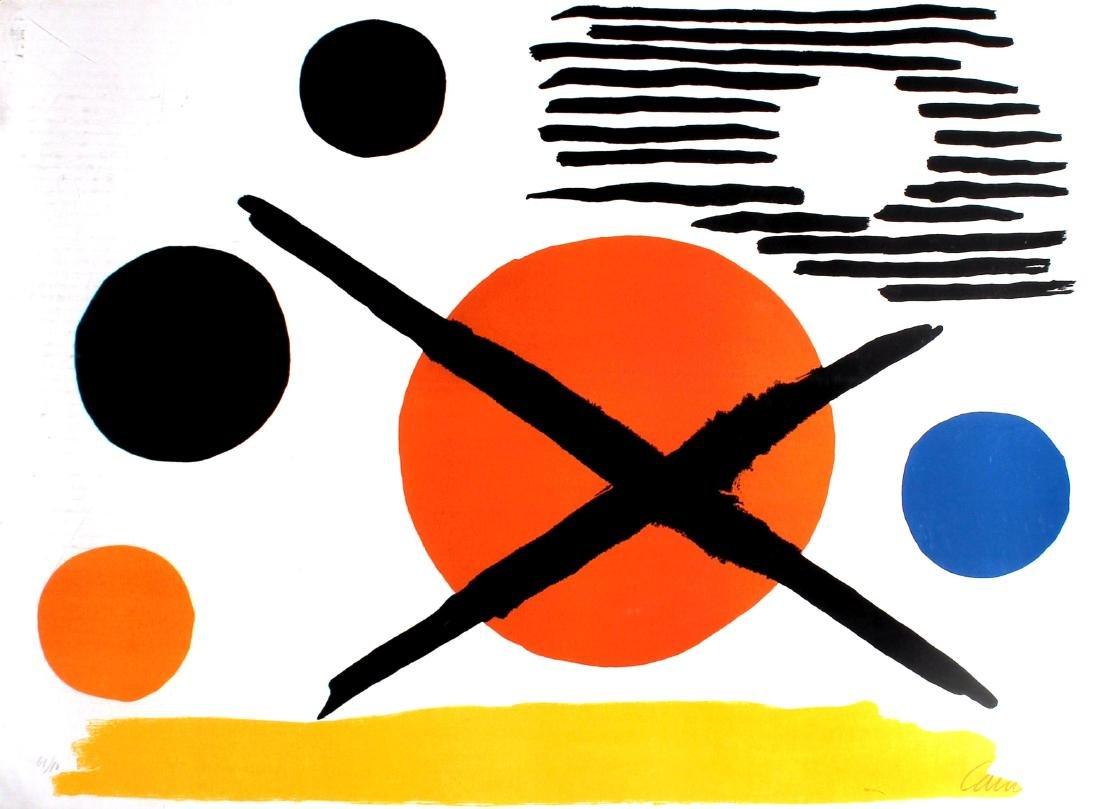 Alexander Calder - La Croix Sur Le Soleil